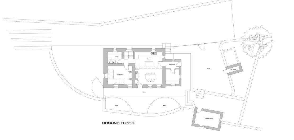 Ground Floor Plan Laykin